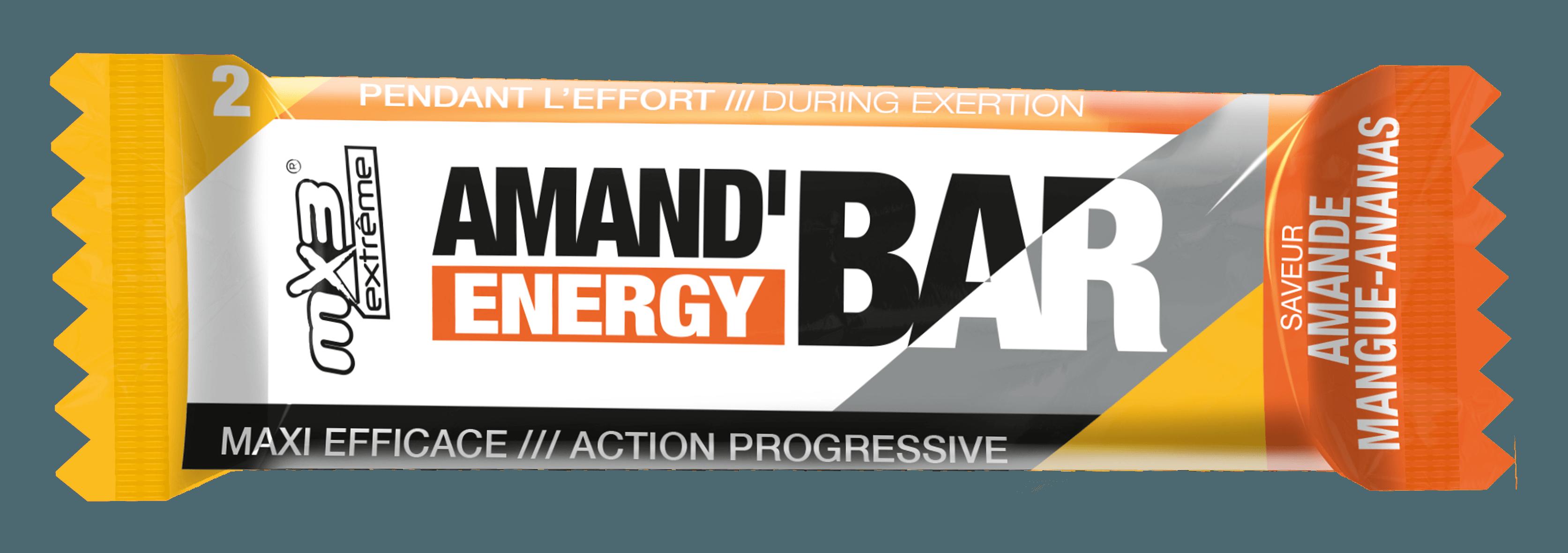 Barre énergétique amande