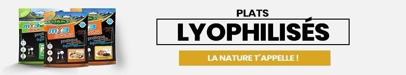 Plats lyophilisés MX3
