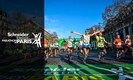 Marathon de Paris Schneider Electric