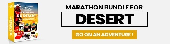 Desert marathon pack MX3 Aventure, go on an adventure ?