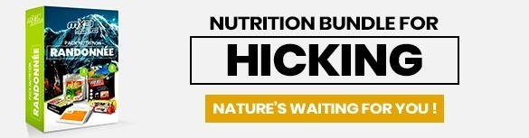 Hicking nutrition pack MX3 Aventure, nature's waiting for you !