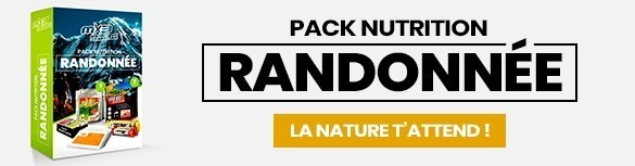 Pack nutrition Randonnée MX3 Aventure, la nature n'attend que toi !