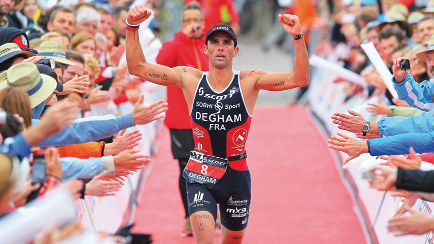4 questions à Toumy Degham, champion de France militaire de triathlon