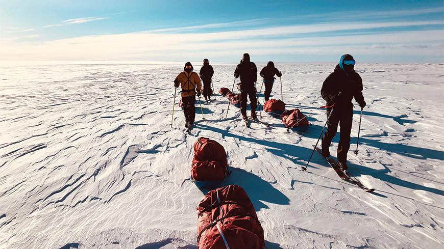 Traversée du Groenland en autonomie, partie 1:  Comment s'alimenter par – 30 ° C?