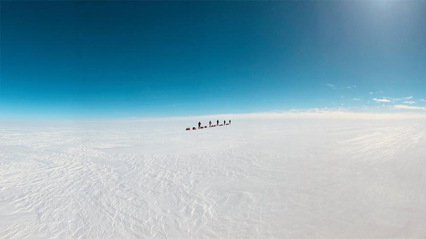 Traversée du Groenland en autonomie, partie 2:  5000 calories jour et 8 kg perdus