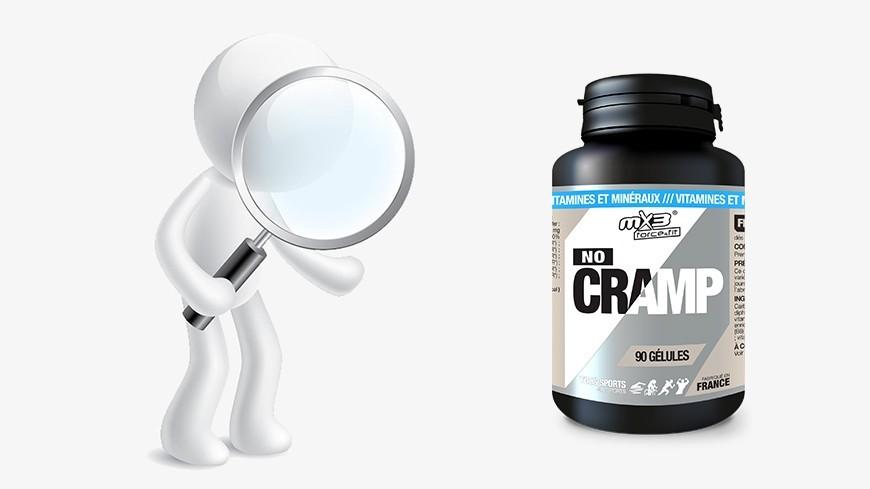 Zoom sur No cramp, complexe de 20 vitamines et minéraux